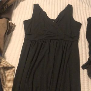 Old navy maternity dress black